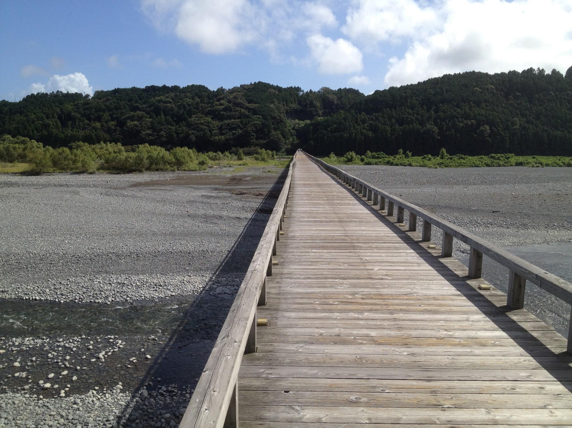 島田市-蓬莱橋