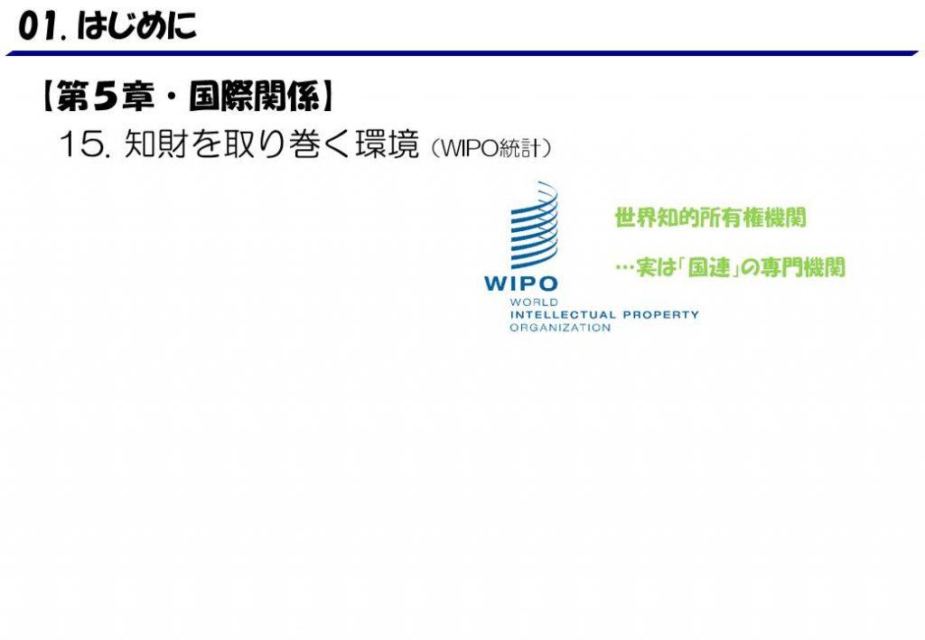 15.WIPO統計