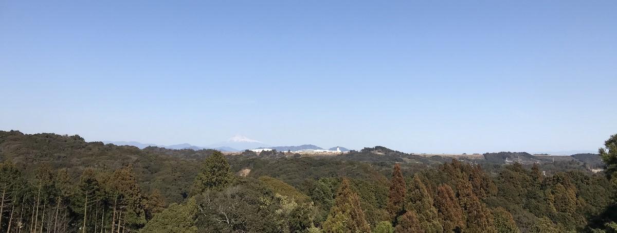 静岡県牧之原市の風景(勝間田城跡)01
