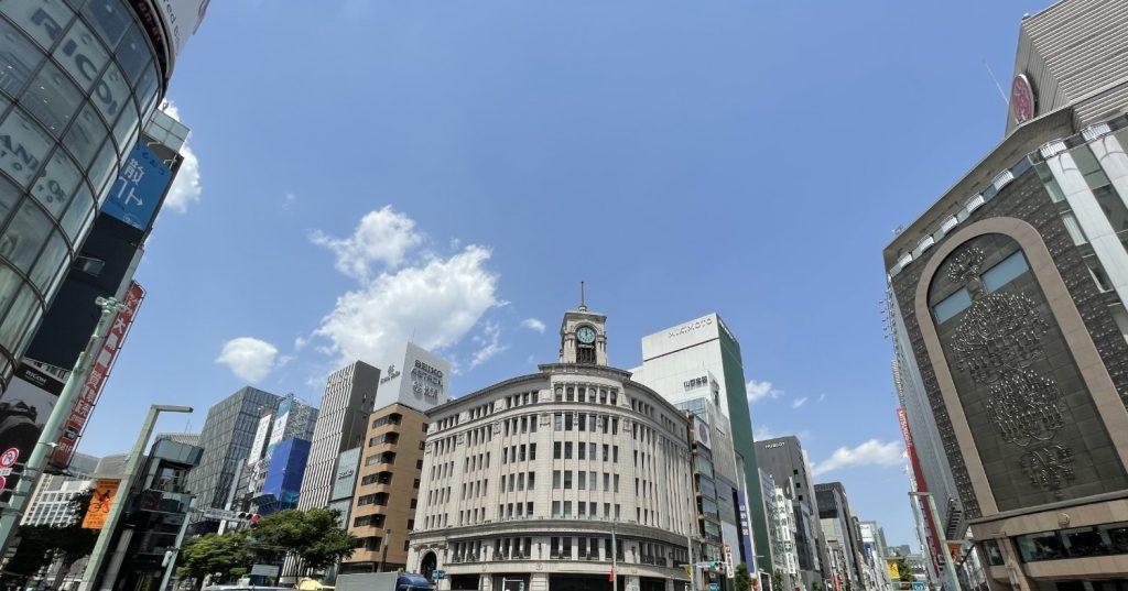東京都中央区の写真02(銀座四丁目交差点・和光本館)