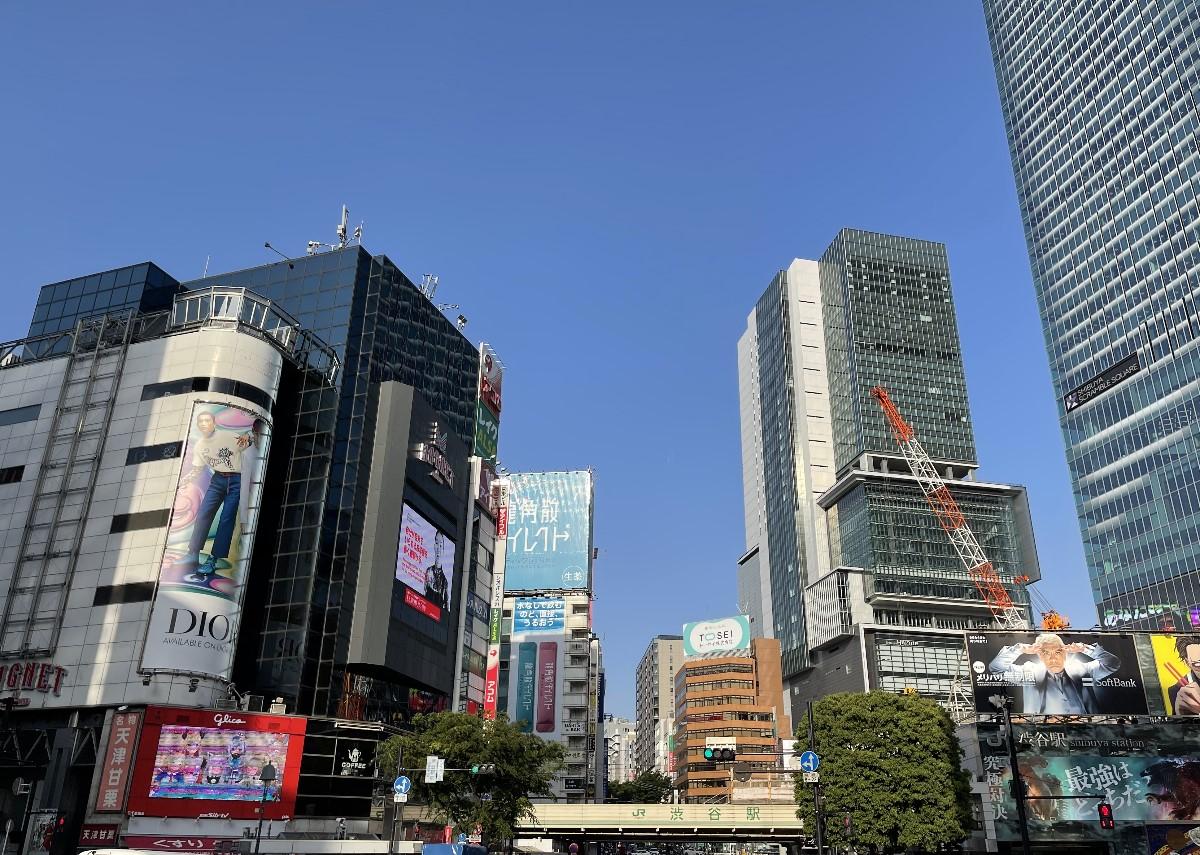 東京都渋谷区の写真01(JR渋谷駅前)